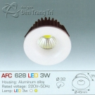 Đèn Downlight Led 3W AFC 628 Ø32