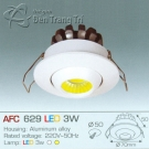 Đèn Downlight Led 3W AFC 629 Ø50
