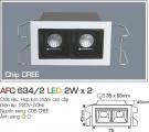 Đèn LED Âm Trần Gắn Tủ 4W AFC 634-2
