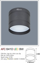 Đèn Lon Nổi Led 3 Màu 9W AFC 641D Φ90