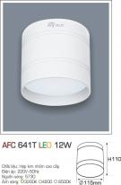 Đèn Lon Nổi Led 3 Màu 12W AFC 641T Φ110