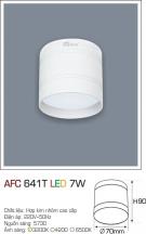 Đèn Lon Nổi Led 3 Màu 7W AFC 641T Φ70