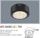 Đèn Led Nổi 3 Màu 7W AFC 643D Φ90