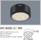 Đèn Led Nổi 3 Màu 9W AFC 643D Φ115