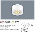 Đèn Led Nổi 3 Màu 3W AFC 643T Φ70