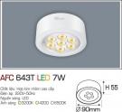 Đèn Led Nổi 3 Màu 7W AFC 643T Φ90