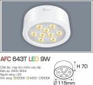 Đèn Led Nổi 3 Màu 9W AFC 643T Φ115