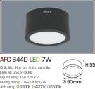Đèn Lon LED Gắn Nổi 7W AFC 644D Ø90