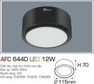 Đèn Led Nổi 3 Màu 12W AFC 644D Φ115