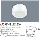 Đèn Lon LED Gắn Nổi 3W AFC 644T Ø70