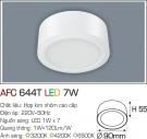 Đèn Lon LED Gắn Nổi 7W AFC 644T Ø90