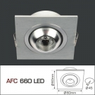 Đèn Downlight Led 1W AFC 660 Ø60