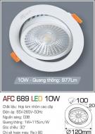 Đèn Mắt Ếch LED 10W AFC 689 Ø100