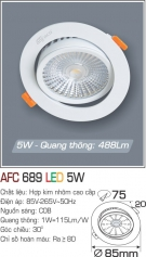 Đèn Mắt Ếch LED 5W AFC 689 Ø75
