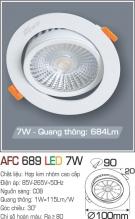 Đèn Mắt Ếch LED 7W AFC 689 Ø90