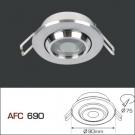 Đèn Mắt Ếch LED AFC 690 Ø60