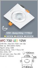 Đèn Mắt Ếch LED 12W AFC 732 Ø120