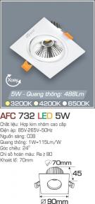 Đèn Mắt Ếch LED 5W AFC 732 Ø70