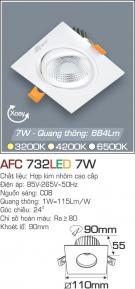 Đèn Mắt Ếch LED 7W AFC 732 Ø90