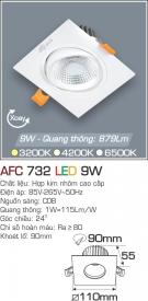 Đèn Mắt Ếch LED 9W AFC 732 Ø90
