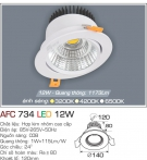 Đèn Mắt Ếch LED 12W AFC 734 Ø120