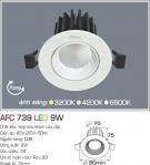Đèn Mắt Ếch LED 9W AFC 739 Ø75