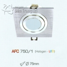 Đèn Mắt Ếch Vuông AFC 750-1 Ø75