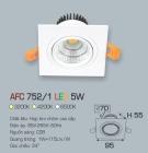 Đèn Mắt Ếch LED 5W AFC 752-1