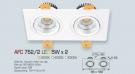 Đèn Mắt Ếch LED 10W AFC 752-2