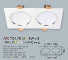 Đèn Mắt Ếch LED Đổi Màu 18W AFC 754-2