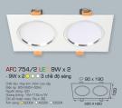 Đèn Mắt Ếch LED 3 Màu 18W AFC 754-2