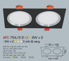 Đèn Mắt Ếch LED Đổi Màu 18W AFC 754-2D