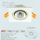 Đèn Mắt Ếch Led AFC 756-1 5W Ø70