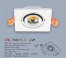 Đèn Mắt Ếch LED 3W AFC 756-1