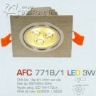 Đèn Mắt Ếch Led AFC 771B-1 3W Ø70