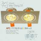 Đèn Mắt Ếch Led AFC 771B-2 3Wx2