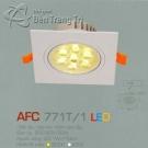 Đèn Mắt Ếch Led AFC 771T-1 7W Ø90