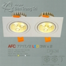 Đèn Mắt Ếch Led AFC 771T-2 3Wx2