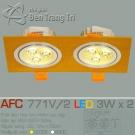 Đèn Mắt Ếch Led AFC 771V-2 3Wx2