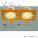 Đèn Mắt Ếch Led AFC 771V-2 7Wx2
