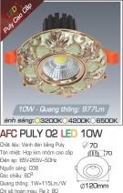 Đèn LED Âm Trần AFC Puly 02 10W Ø70