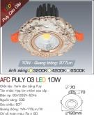 Đèn LED Âm Trần AFC Puly 03 10W Ø70