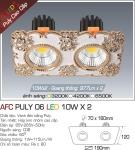 Đèn LED Âm Trần AFC Puly 06 20W