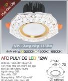 Đèn LED Âm Trần AFC Puly 08 12W Ø100