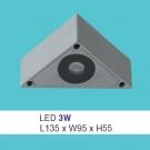 Đèn Cầu Thang Gắn Nổi LED 3W UAK06