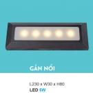 Đèn Cầu Thang Gắn Nổi LED 5W UAK3229