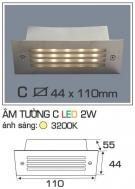 Đèn Âm Tường Cầu Thang AFC LED 2W Mẫu C