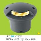 Đèn Âm Sàn LED 9W UAS11 Ø150