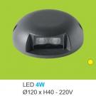 Đèn Lắp Sàn LED 4W UASN04 Ø120