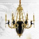 Đèn Chùm Nến Đồng Cao Cấp ERA-CD1006 Ø700